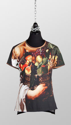 vivienne westwood gold label fruit basket tee front