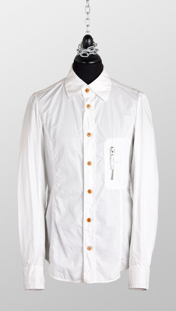 Vivienne Westwood MAN Long Sleeve Shirt – White