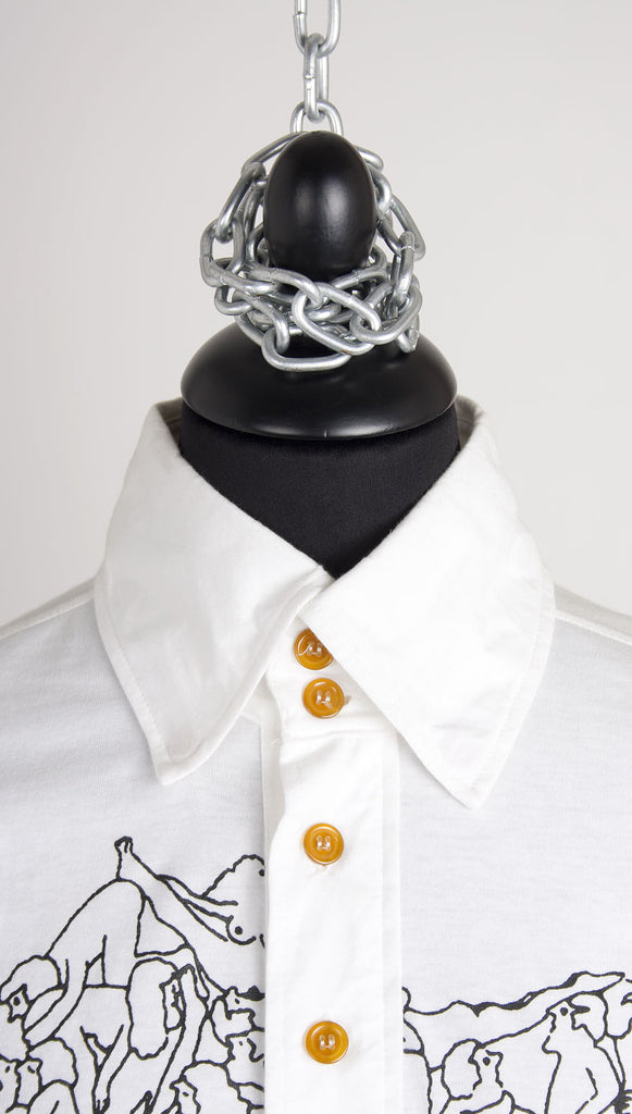 Vivienne Westwood MAN Orgy Shirt – White