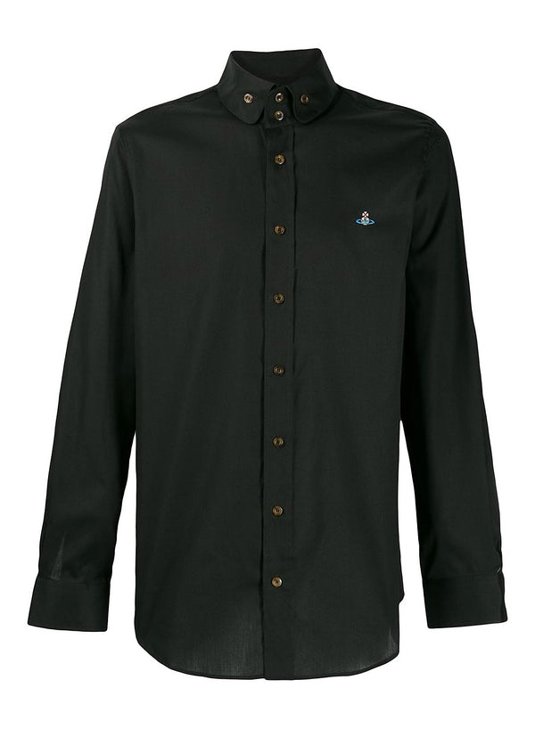 vivienne westwood classic krall shirt black ss 2020