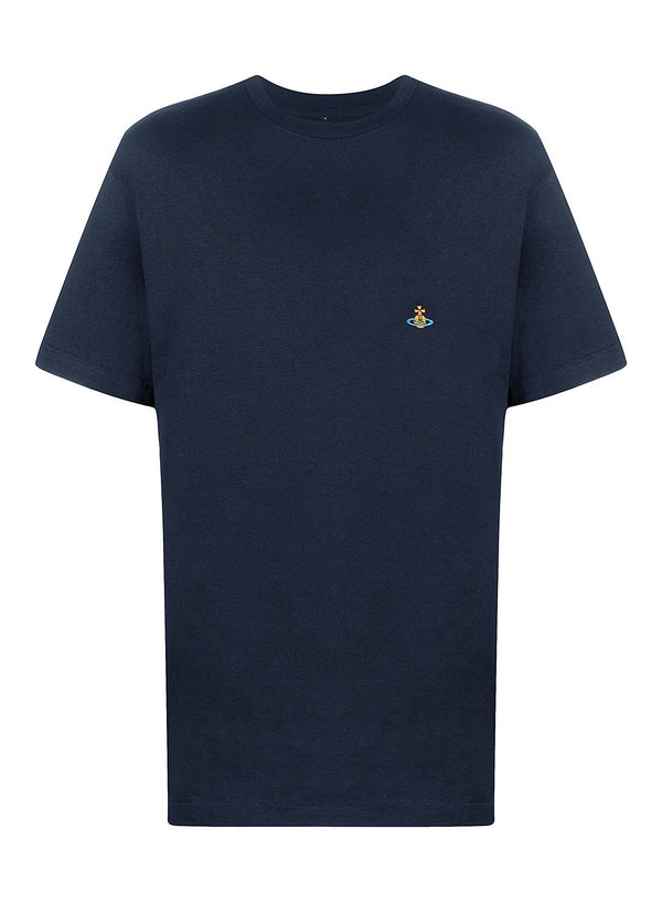 vivienne westwood classic orb tee navy ss 2021