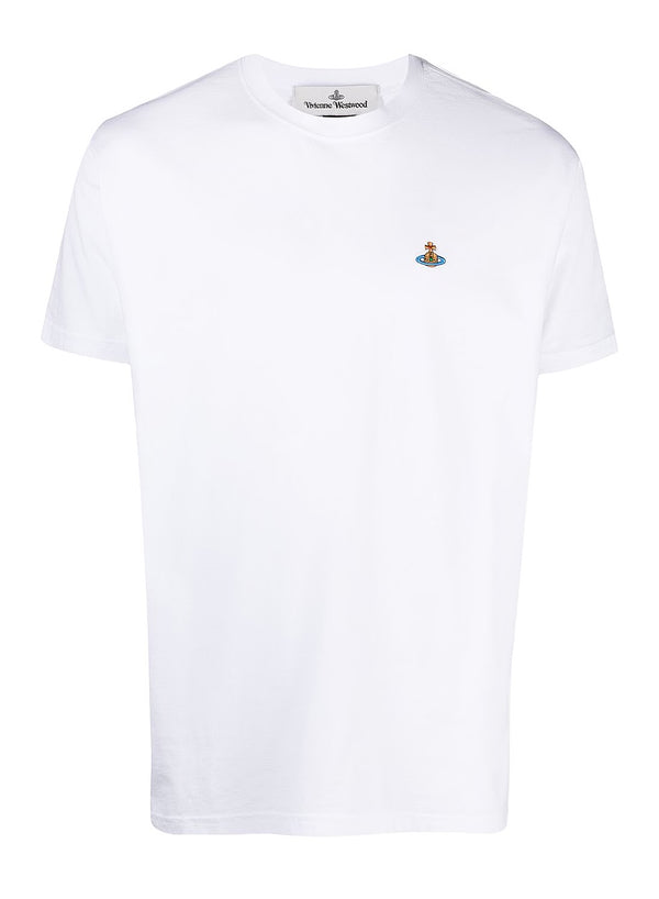 vivienne westwood classic orb tee white ss 2021