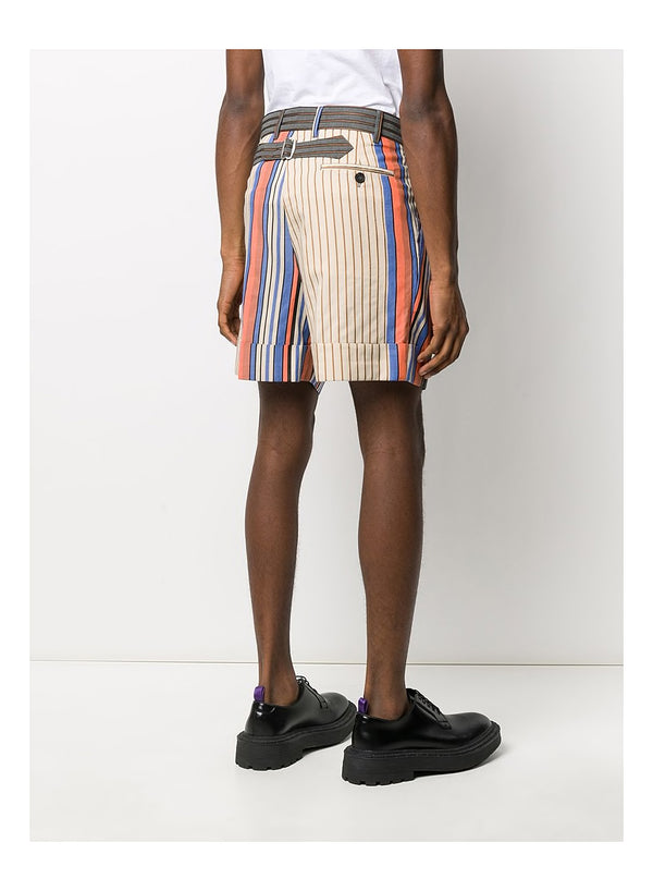 Crazy Stripes George Shorts - Multi