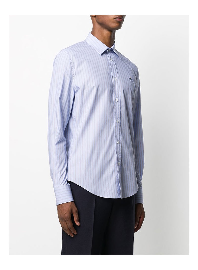 Slim Shirt Classic Stripes - Blue Stripe