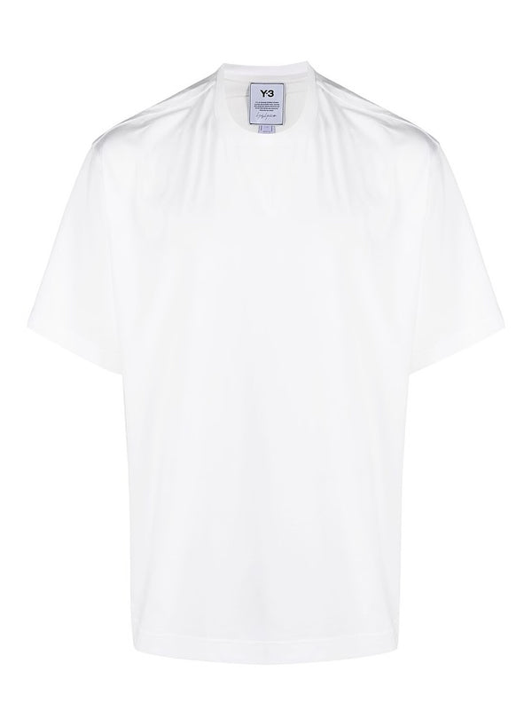 y3 m cl logo tee white ss 2021