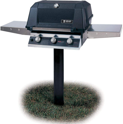 MHP Tri-Burn Post Mounted Grill