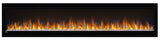 Napoleon Alluravision 74 Slim Line Electric Fireplace
