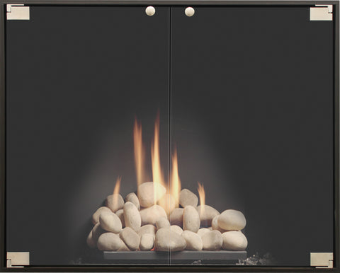 Elite Thinline Fireplace Door By Stoll