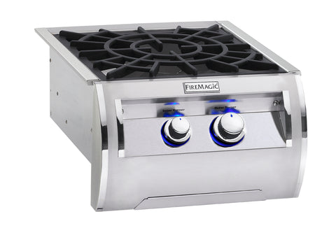 Fire Magic Echelon Power Burner With Porcelain Grates