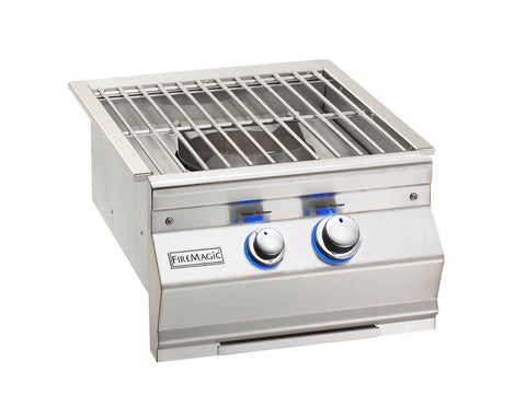 Fire Magic Aurora Power Burner With Stainless Grates