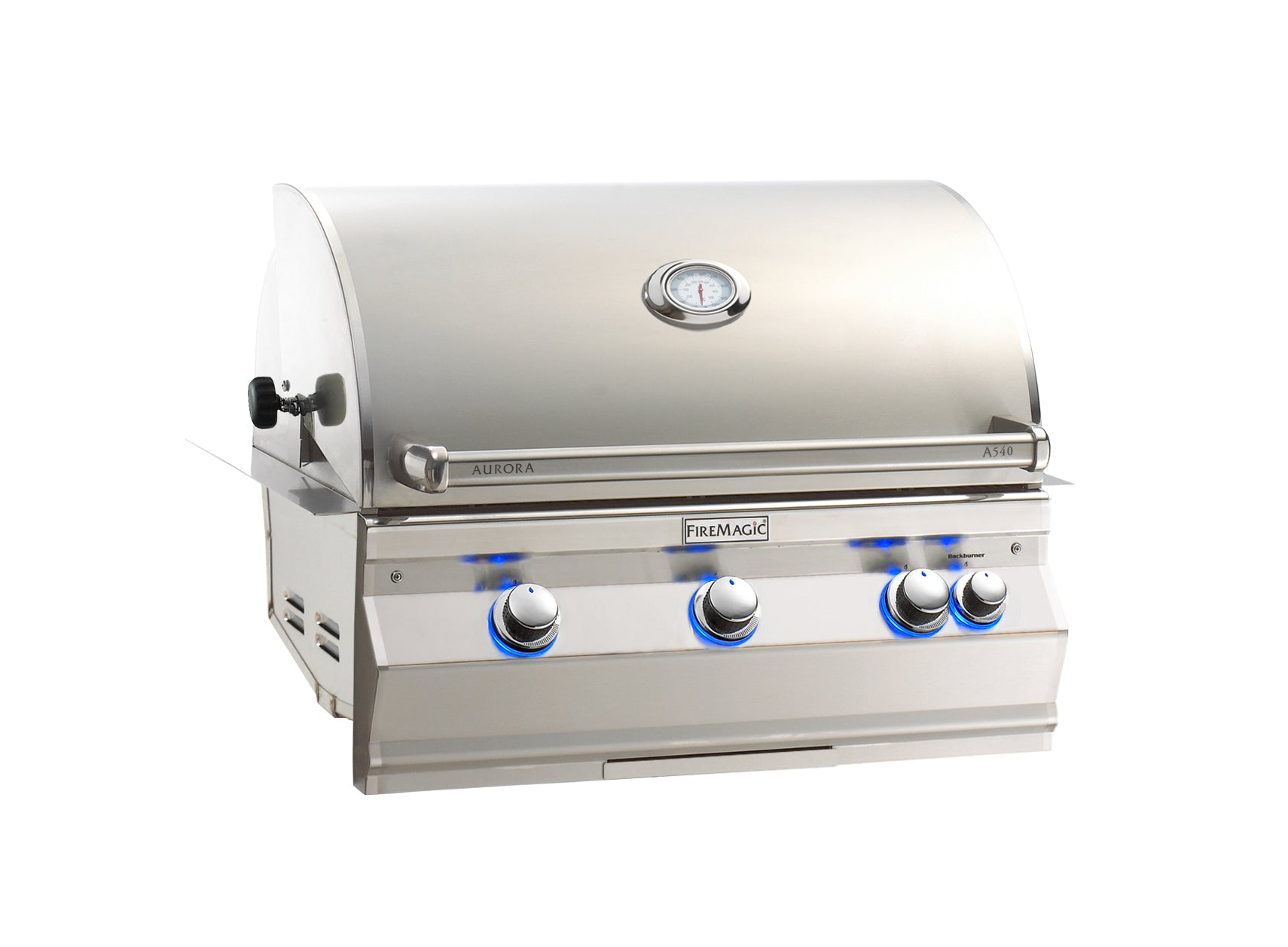 Fire Magic Aurora A540i Natural Gas Built In Grill With Rotisserie