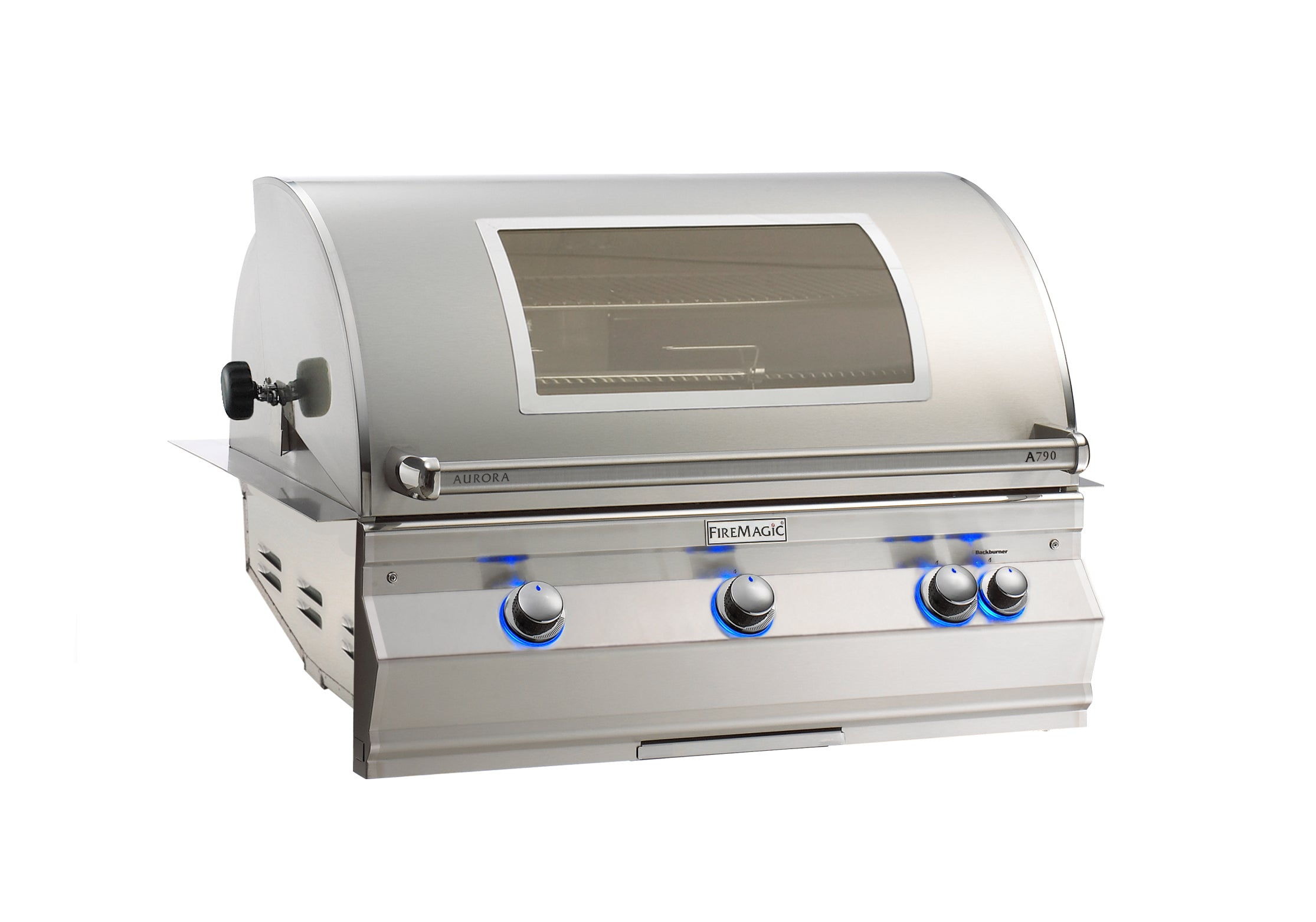 Fire Magic Aurora A790i Natural Gas Built In Grill With Rotisserie
