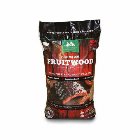 Green Mountain Premium 28lb Fruitwood Blend Pellet Bag
