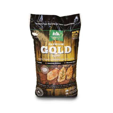 Green Mountain Premium 28lb Gold Blend Pellet Bag