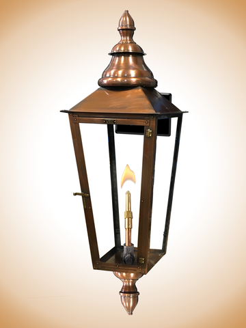 Flambeaux Grenada With Double Finials Wall Mount Lamp