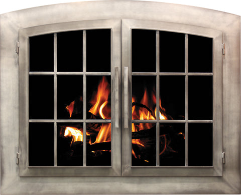 Industrial Fireplace Door By Stoll