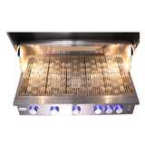 "RCS 40"" Premier Built In Natural Gas Grill With Lights"