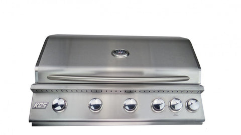 "RCS 40"" Premier Built In Natural Gas Grill"