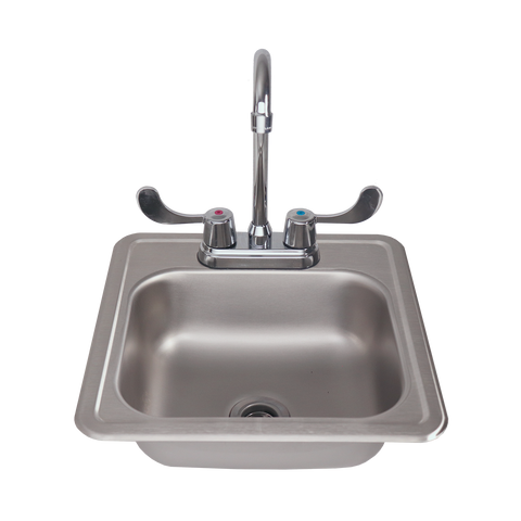 RCS Stainless Steel Sink and Faucet
