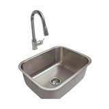RCS Stainless Undermount Sink and Faucet