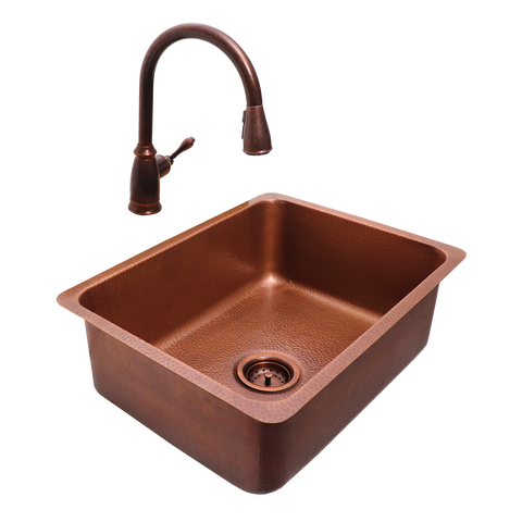 RCS Copper Undermount Sink