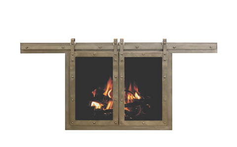 Sliding Fireplace Door By Stoll