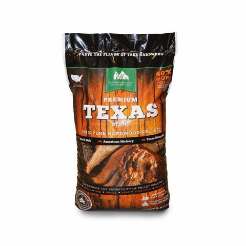 Green Mountain Premium 28lb Texas Blend Pellet Bag