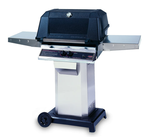 MHP WNK Grill On Stainless Steel Cart