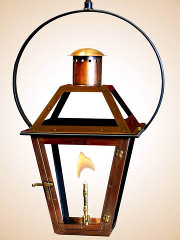 Flambeaux Bourbon St Hanging Yoke Lamp