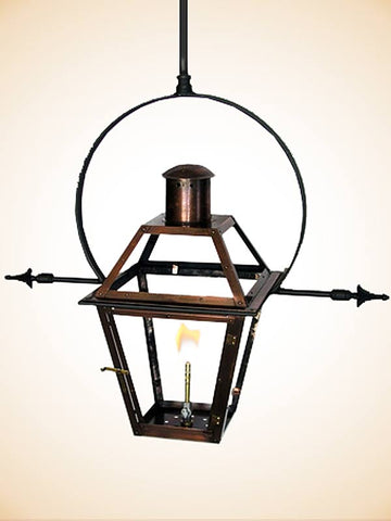 Flambeaux Bourbon St Yoke With Ladder Racks Hanging Lamp