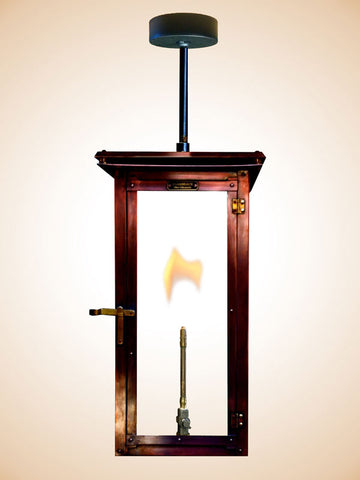 Flambeaux Lakeview Hanging Stem Lamp