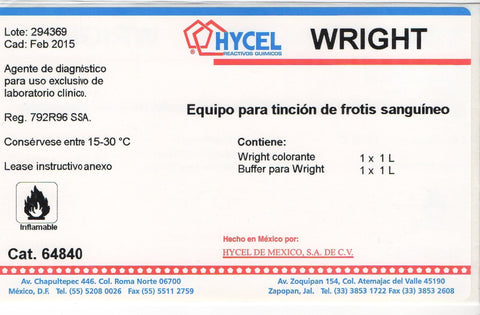 WRIGHT EQUIPO