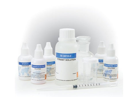 TEST KIT DE OXIGENO DISUELTO (0-10 PPM)