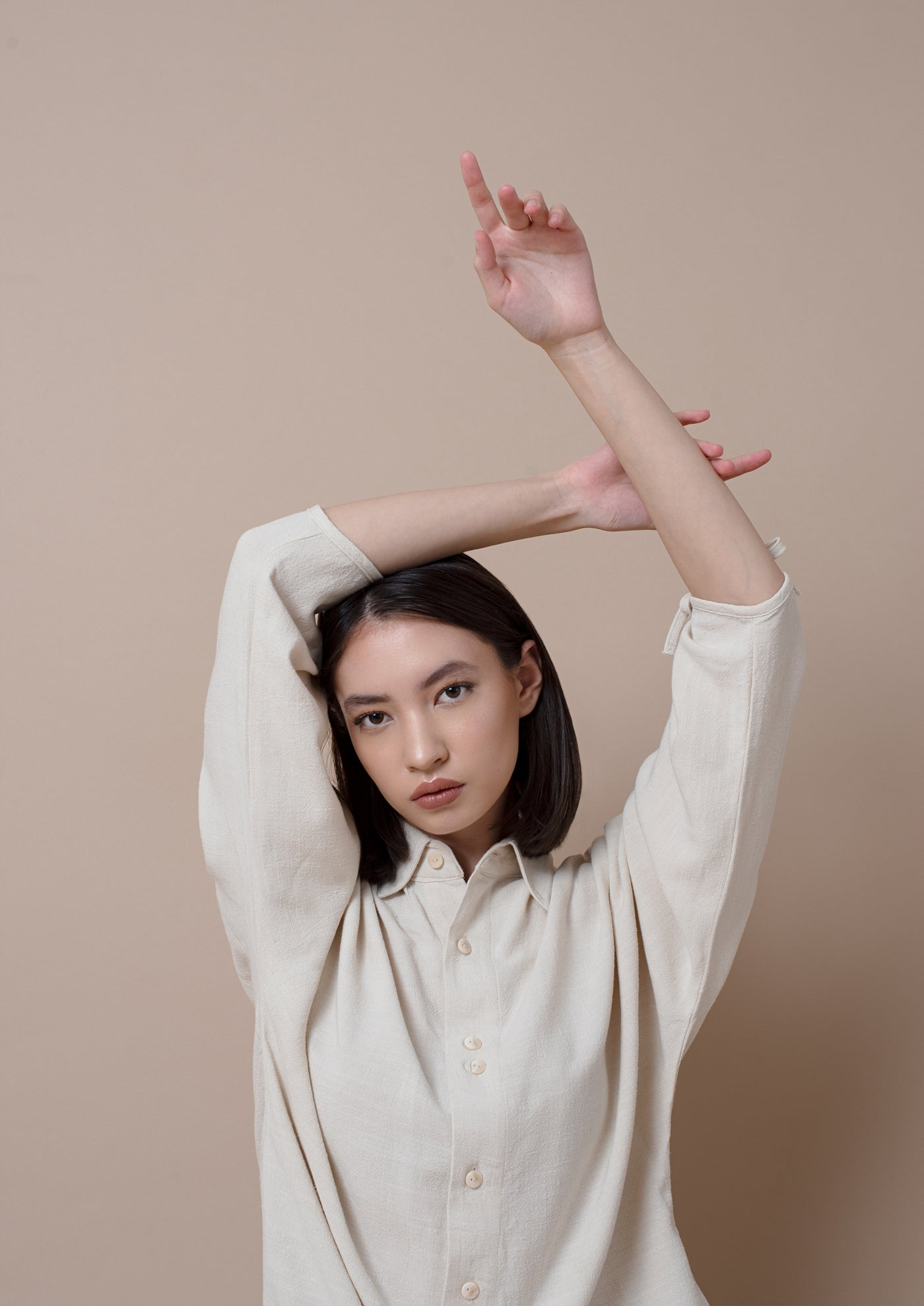 Thesis Shirt Dress ¦ Cream