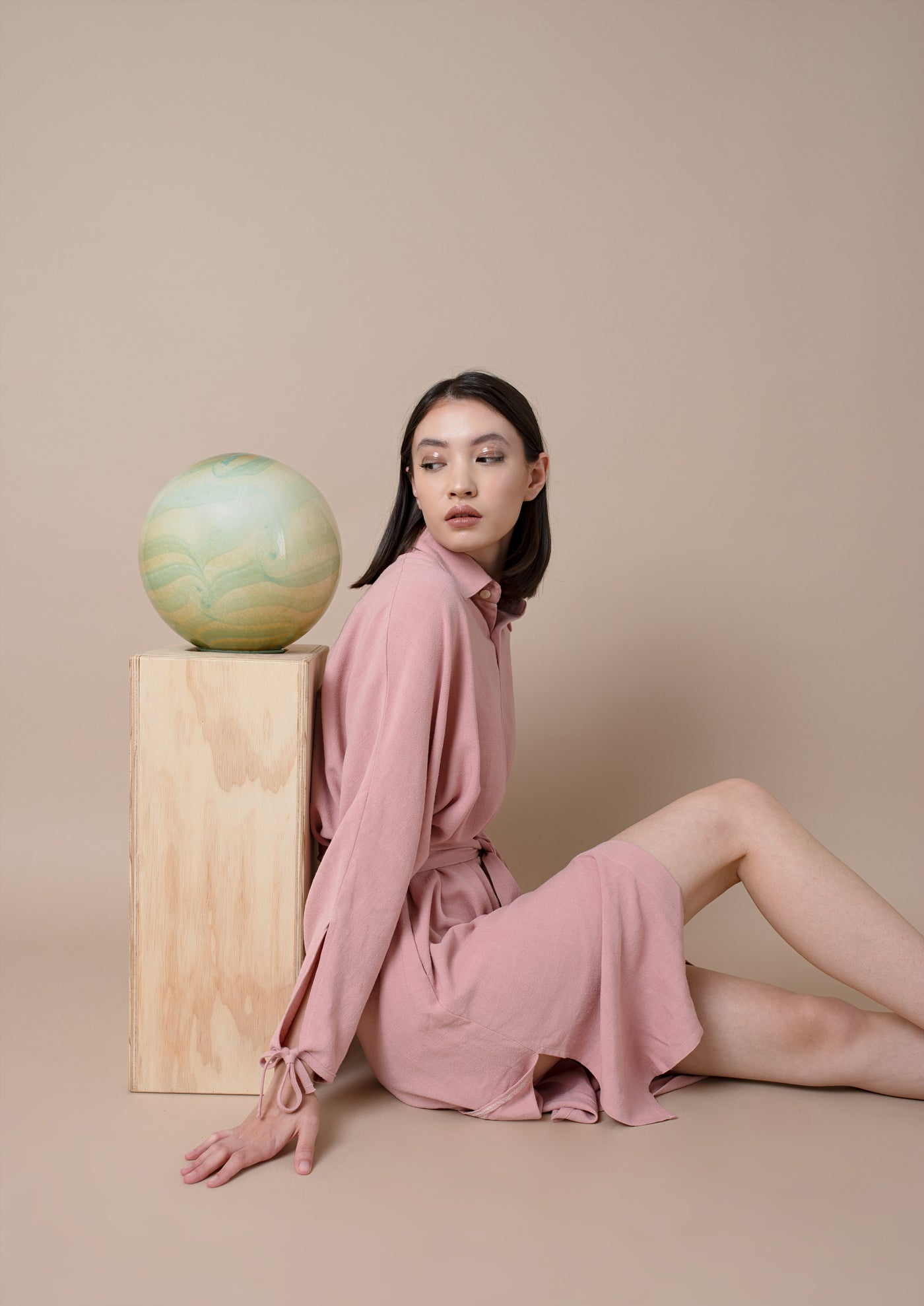 Thesis Shirt Dress ¦ Pink