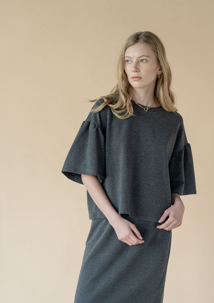 Diction Top ¦ Charcoal  ¦ Pre-order