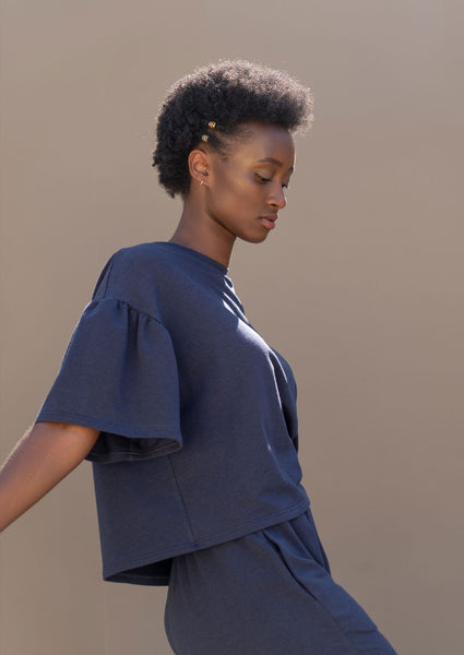 Diction Top ¦ Navy