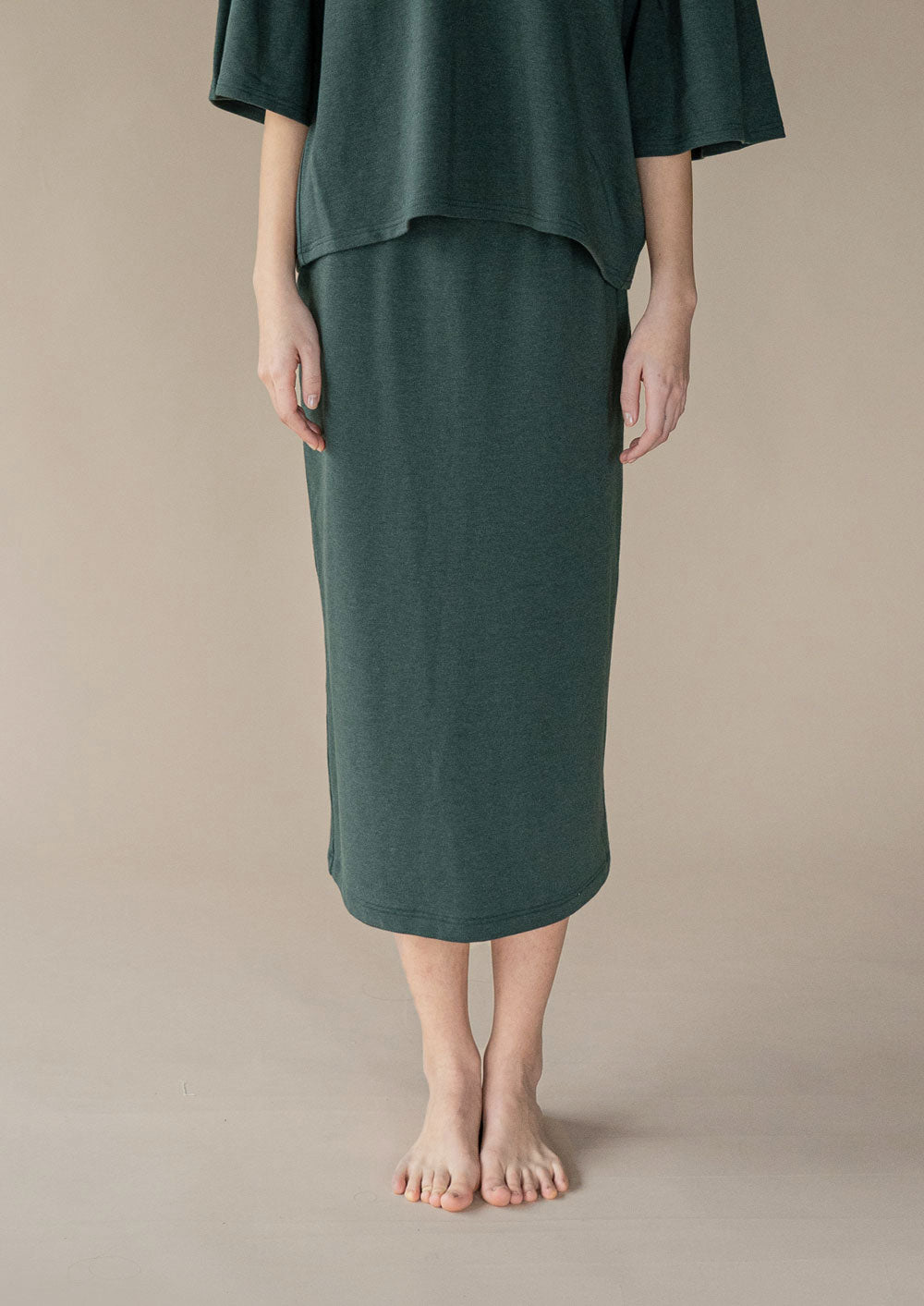 Discourse Skirt ¦ Hunter Green