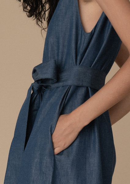 Monad Jumpsuit ¦ Denim