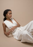 Monad Jumpsuit ¦ White