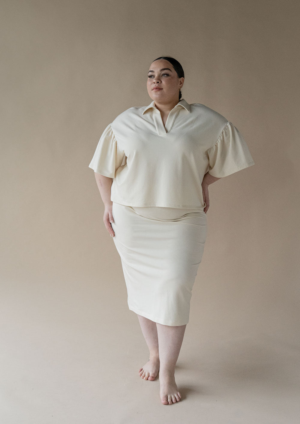 Discourse Skirt ¦ Porcelain