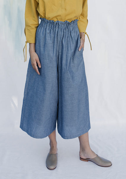 Varnish Culottes - Sky