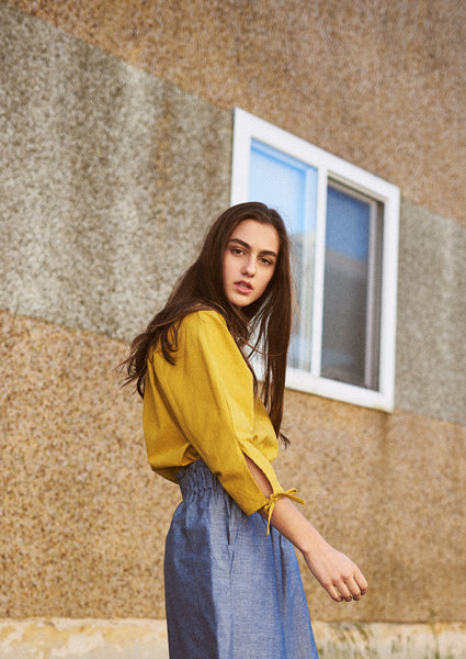 Washi Blouse ¦ Mustard
