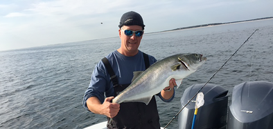 Bluefishing Off Monomoy
