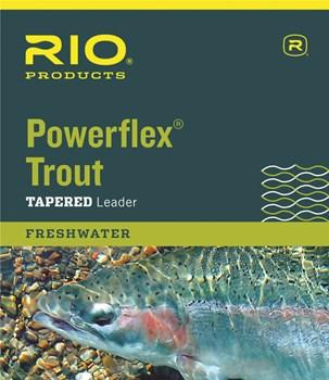 RIO POWERFLEX TAPERED TROUT LEADER
