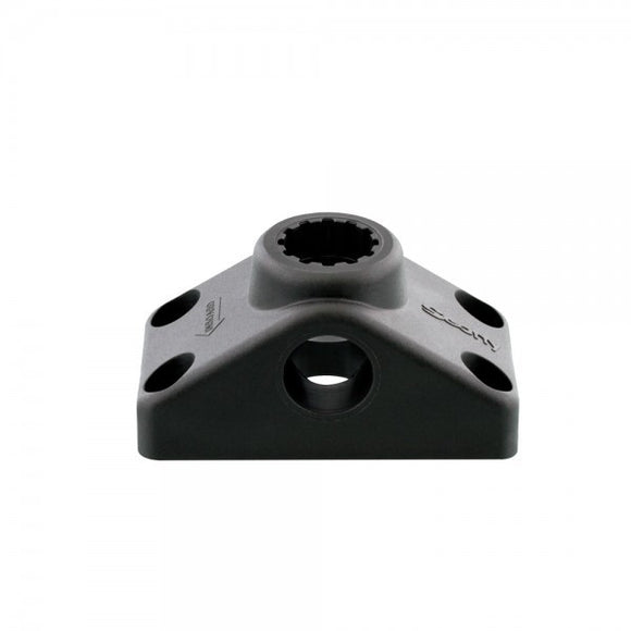 SCOTTY SIDE/DECK MOUNTING BRACKET, BLACK