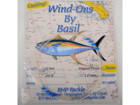 BHP TACKLE SEAGUAR CASTING WIND-ON LEADER FLUORO