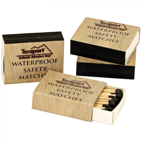 WATERPROOF SAFETY MATCHES