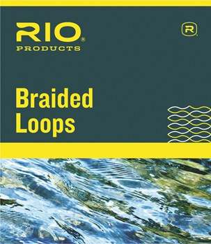 RIO BRAIDED LOOPS CONNECTORS REGULAR LINES 3-6 (4 PACK)