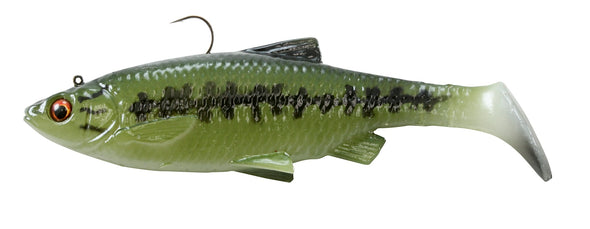 SAVAGE 3D BAITFISH PADDLETAIL 4""